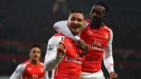 DStv_BPL_ArsenalvsChelsea_Danny_Welbeck_Olivier_Giroud
