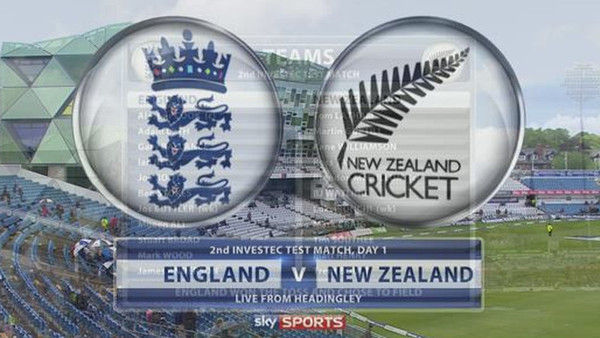 ENG Cricket - Investec Test Series-England v New Zealand T2 Day 1