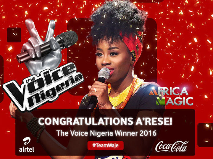 4x3 60 percent arese wins debut the voice nigeria title 20160731 004 pre