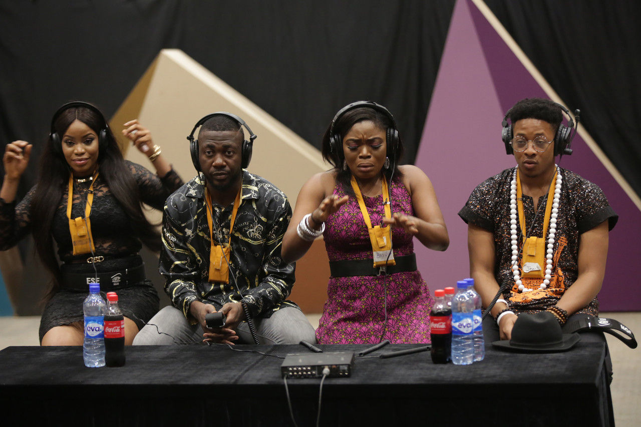 33 eviction 24 bisola and bally react to jon and ese eviction 1 004 pre