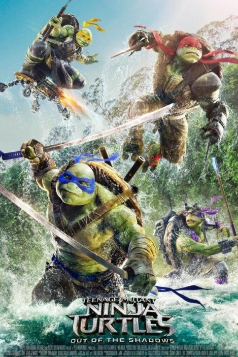 25 teenage mutant ninja turtles  out of the shadows poster 004 pre