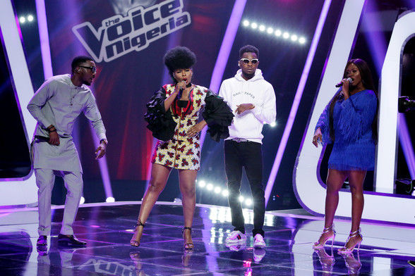 28 yemi alade singing on stage with other coaches  9  003 pre