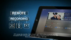 view : More about Remote Recordings