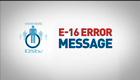 view : How to clear E16/E19/E100/E109 error codes