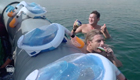 view : Madswimmers take on the Dead Sea