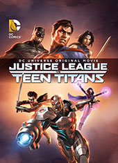 DCU Justice League vs Teen Titans