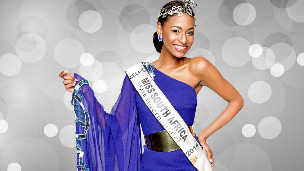 Miss South Africa 2015 promotional artwork.