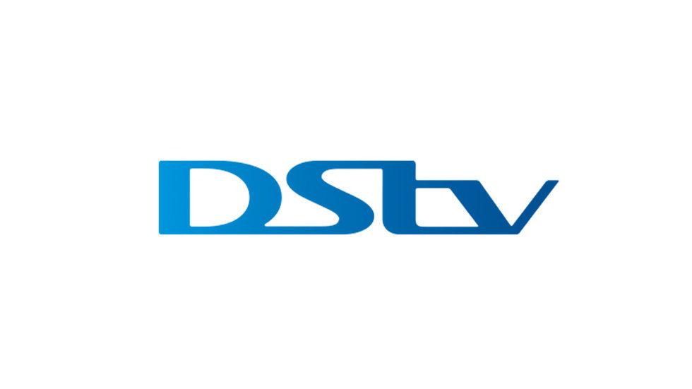 DStv floating logo blue and white
