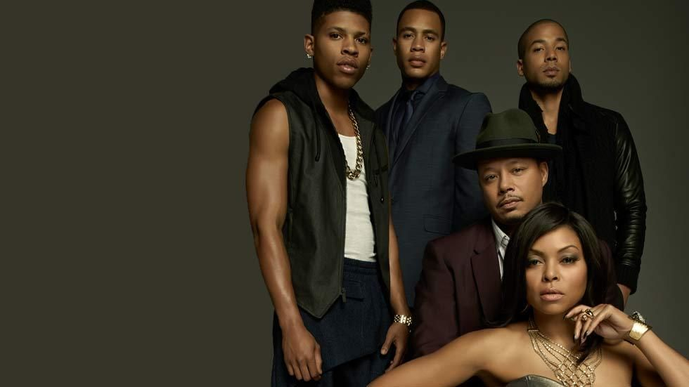The Lyon family in the FOX drama series Empire