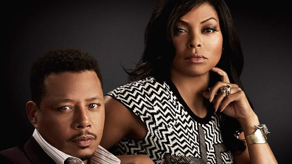 Taraji P Henson and Terrence Howard in the FOX TV show, Empire on DStv