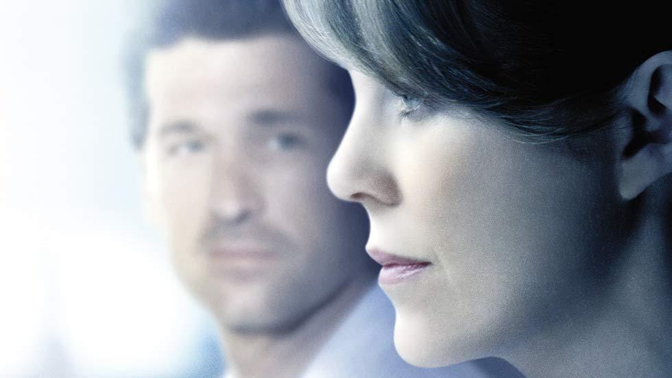 Meredith and Derrick Shepherd in Grey's Anatomy