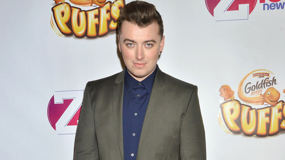Sam Smith press shot, smiling