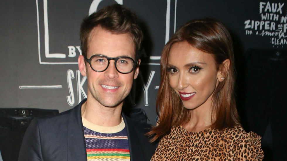 E! hosts Brad Goreski and Giuliana Rancic
