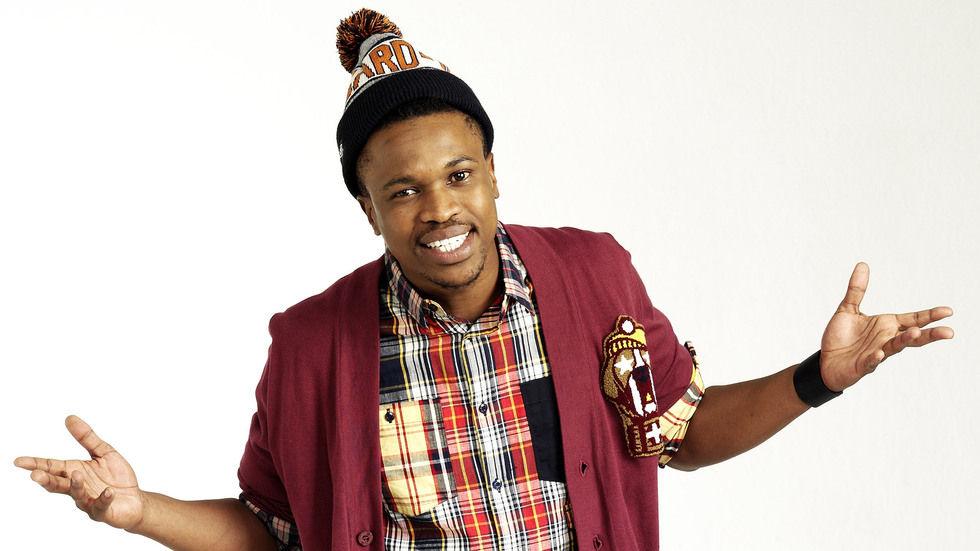 Siyabonga Ngwekazi is host of Give Me That Bill on Mzansi Magic