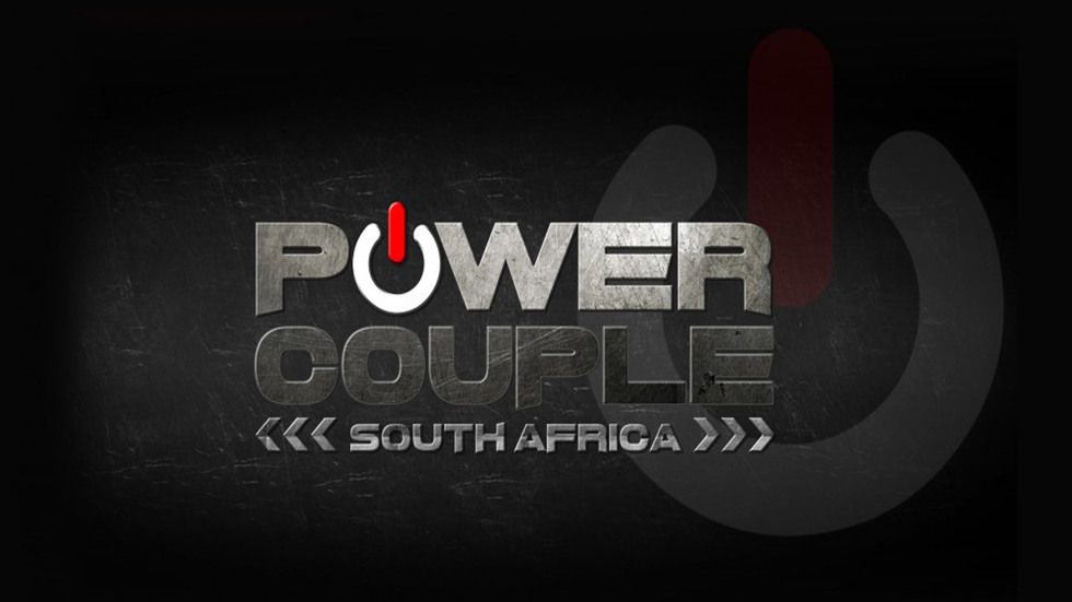 Power Couple logo, black