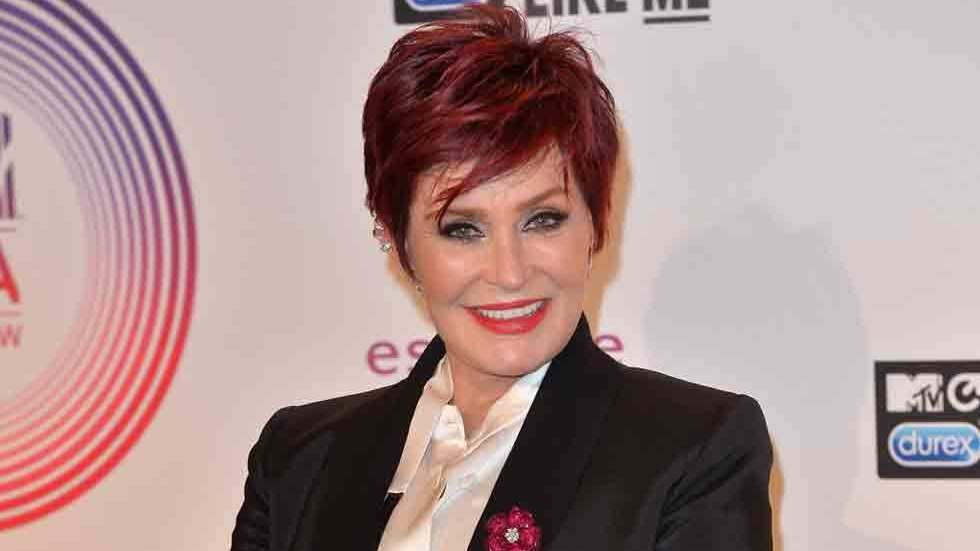 Sharon Osbourne press, head shot