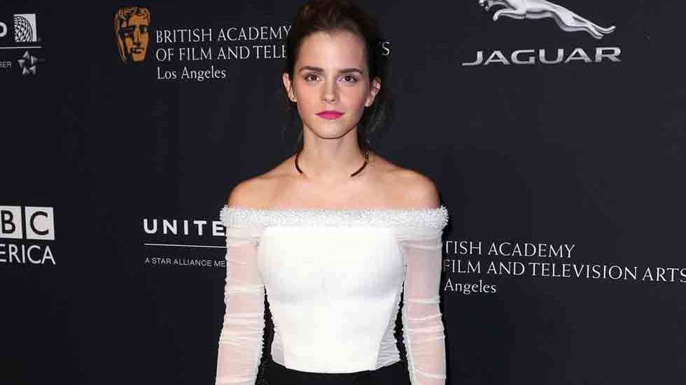 Emma Watson, press shot, upper body, 2015