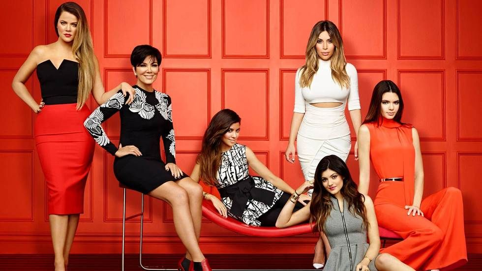Photograph Keeping Up With The Kardashians Kloe, Kris, Courtney, Kim, Kylie, Kendall Jenner