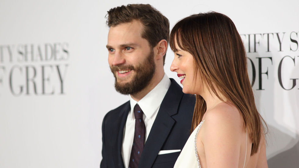 Fifty Shades of Grey JamieDornan and DakotaJohnson