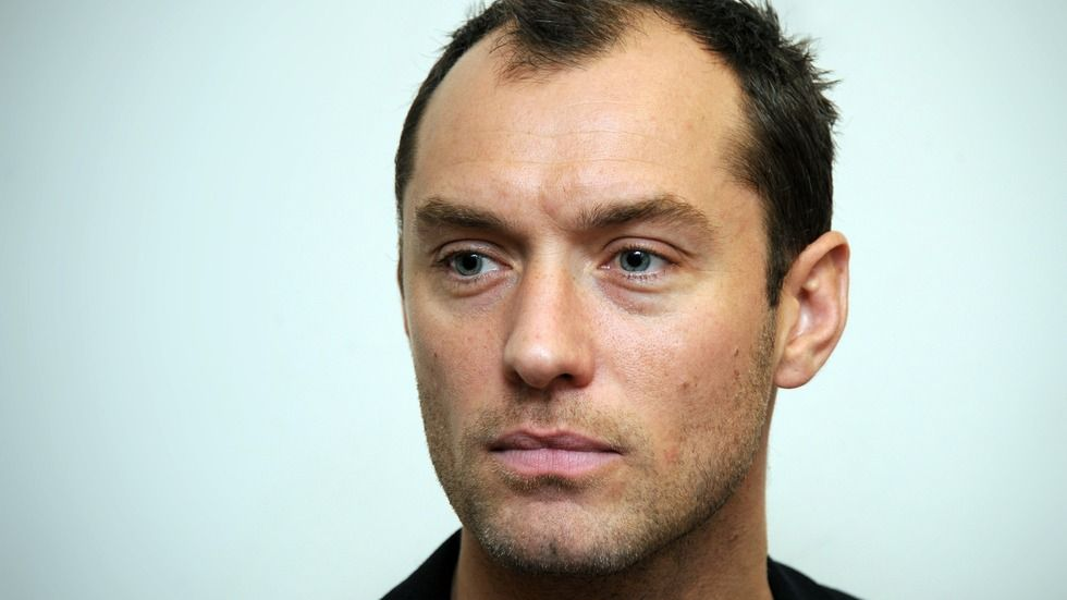 Jude Law closeup.