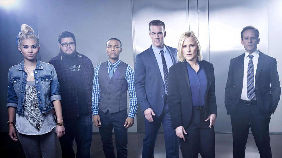 Cast of CSI Cyber.