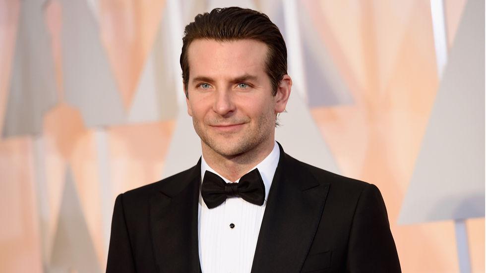 Bradley Cooper in tuxedo.