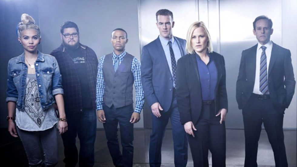 The cast of CSI Cyber