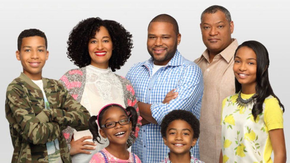 The cast of Black-ish S1.