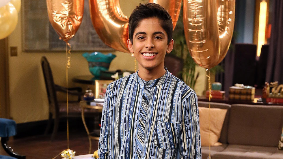 Karan Brar from the Disney series Jessie.