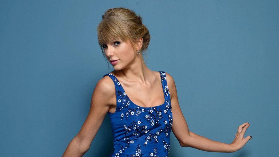 Taylor Swift in Blue.