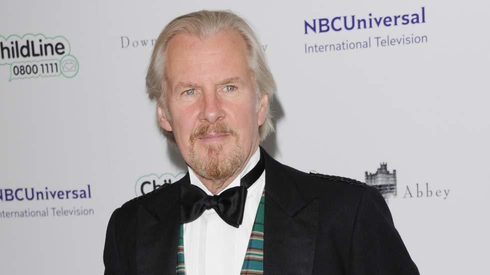 British actor David Robb who stars in Downton Abbey on the red carpet