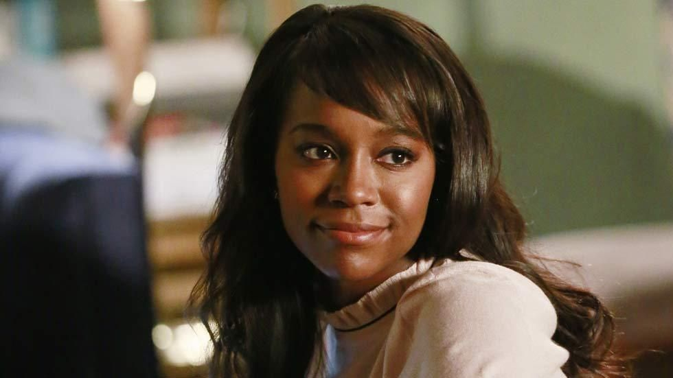 Michaela in a scene on the TV show How To Get Away With Murder