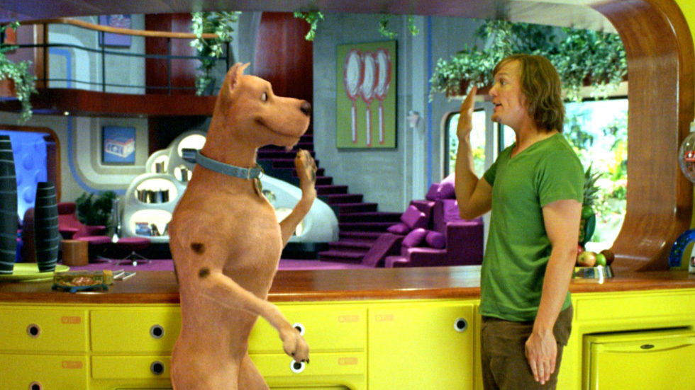 A scene from Scooby Doo 2: Monsters Unleashed on Studio Universal.