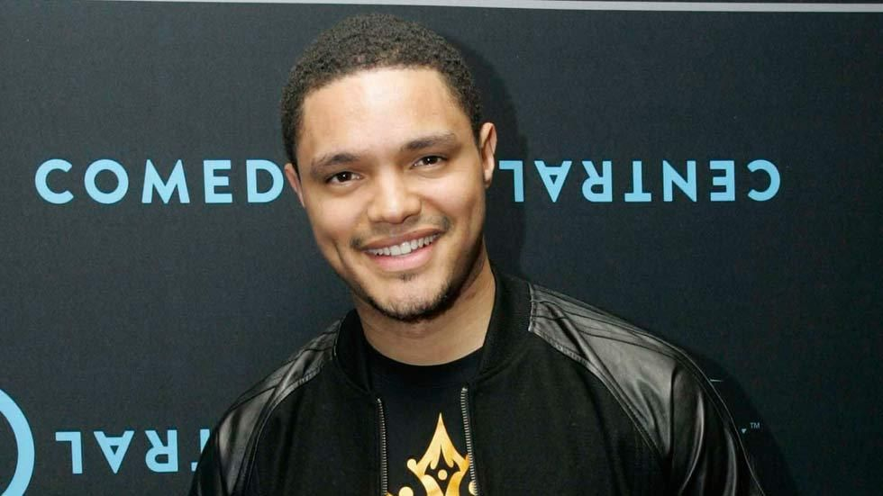 South African comedian Trevor Noah on the red carpet