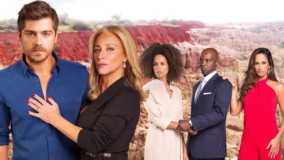 A ünica Mulher, telenovela na DStv1, poster de imprensa