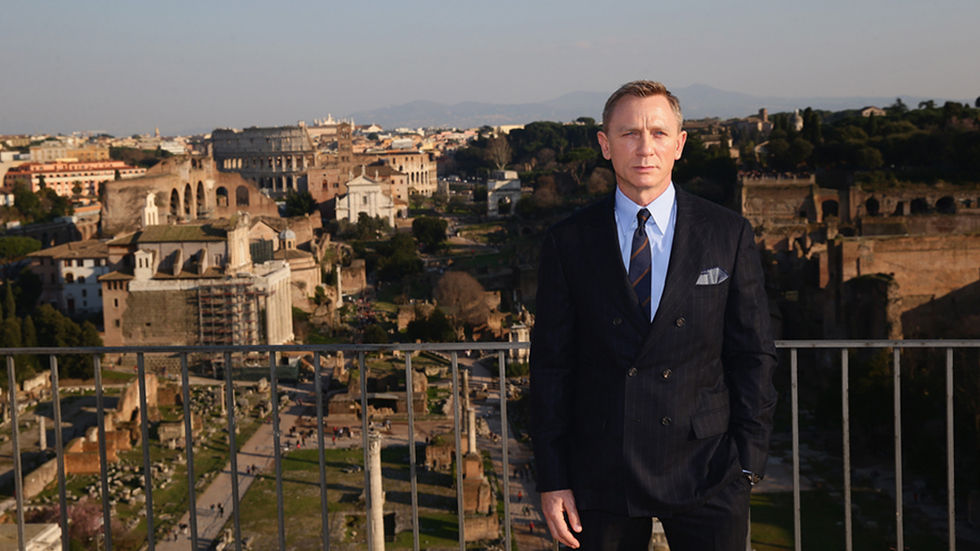 James Bond played by Daniel Craig.