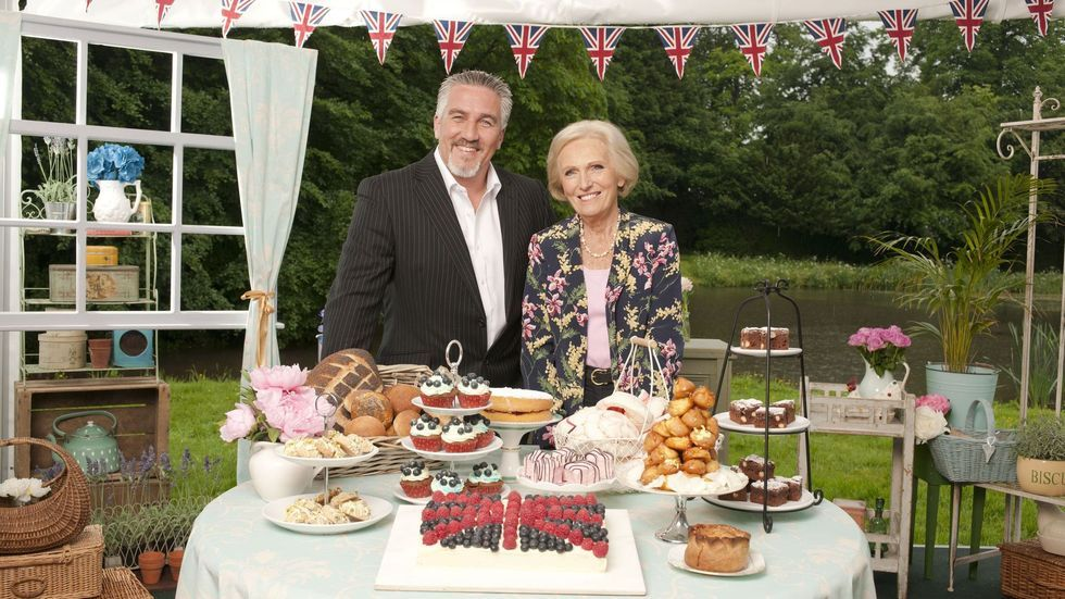 Great British Bake Off poster