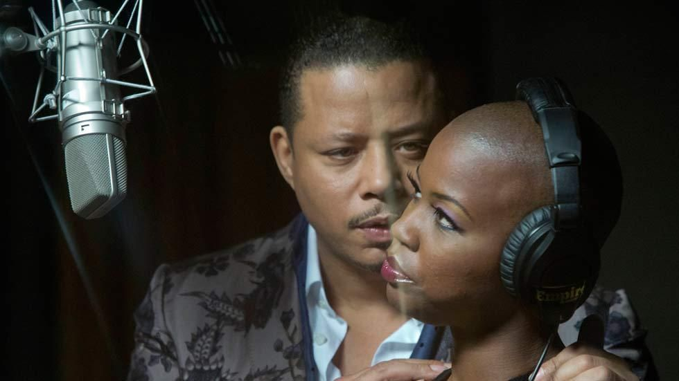 Terrence Howard as Lucious Lyon in a scene from the first episode of Empire