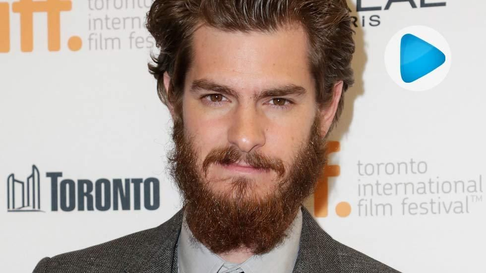 Hollywood actor Andrew Garfield on the red carpet