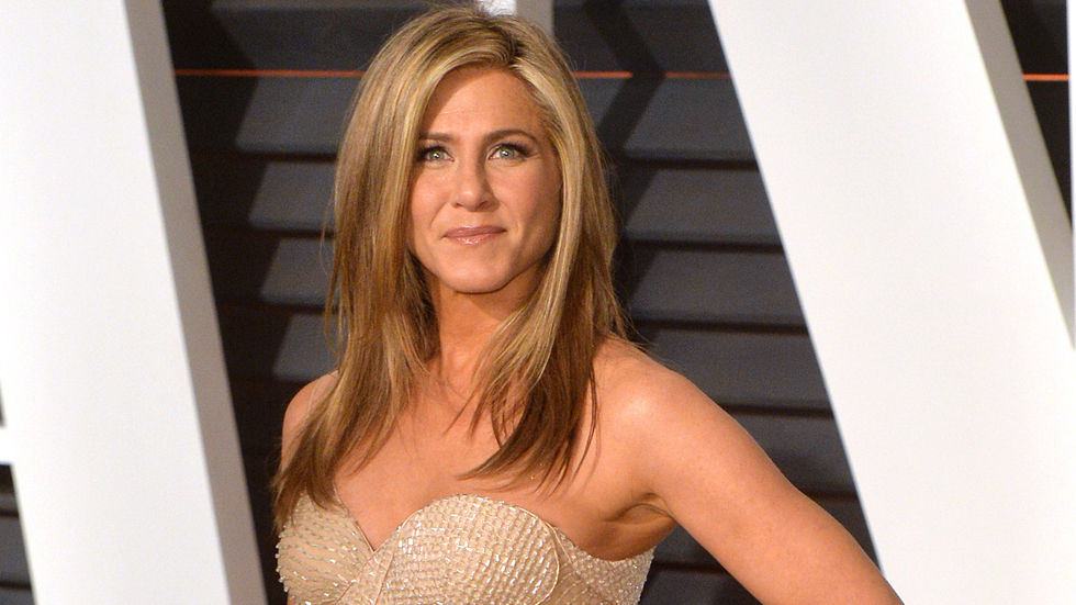 A Getty image of Jennifer Aniston posing.