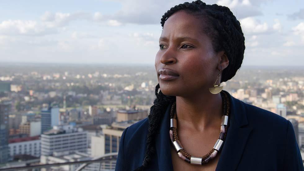 News presenter on Al Jazeera, Ndoni Khanyile