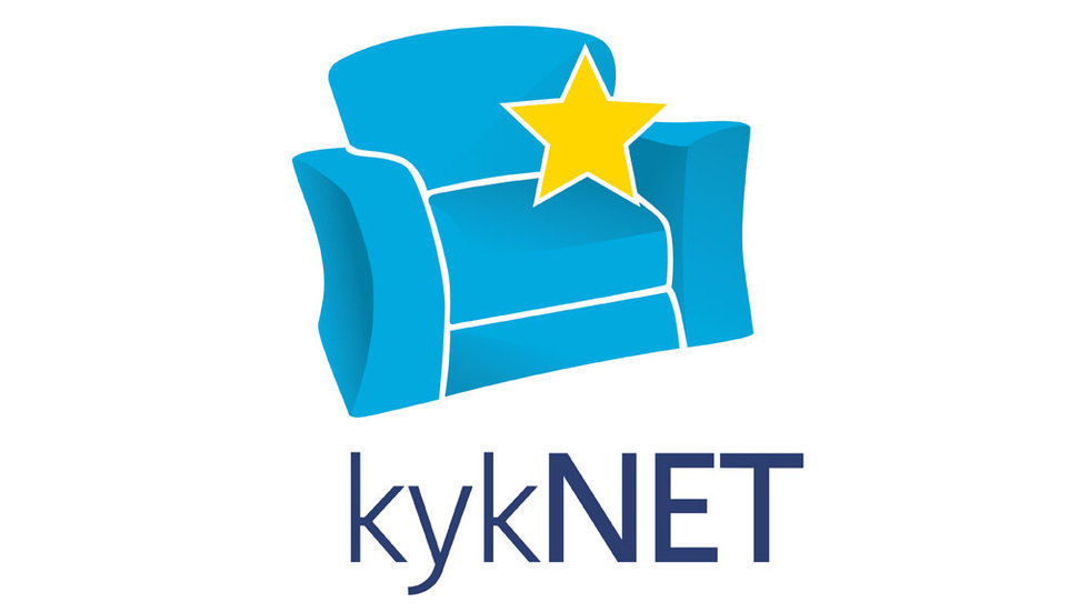 kykNET logo for the official kykNET site,