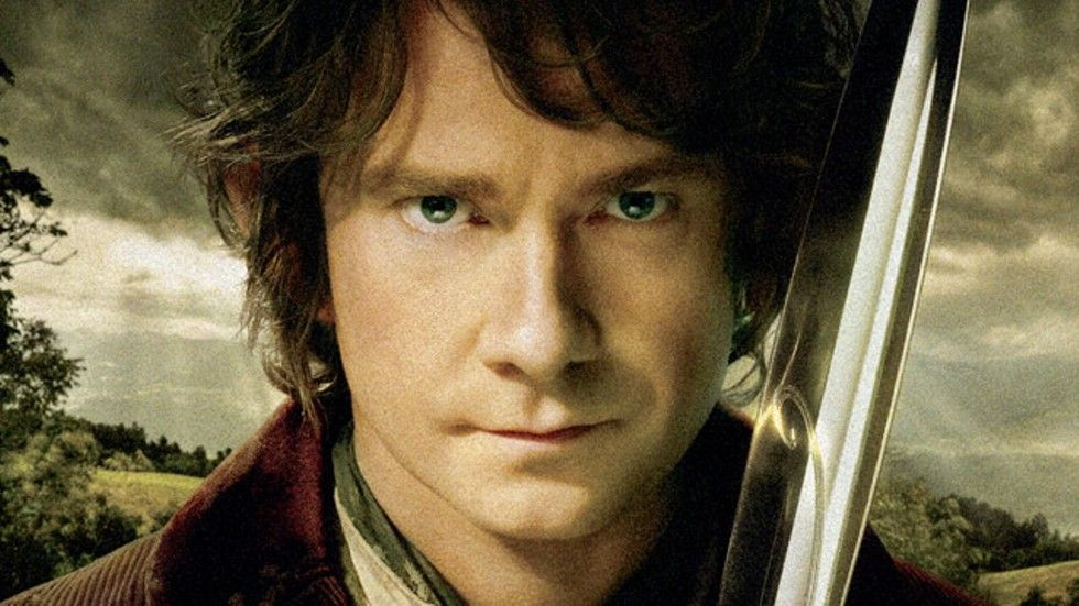 Martin Freeman as Bilbo Baggins in The Hobbit: The Battle of Five Armies