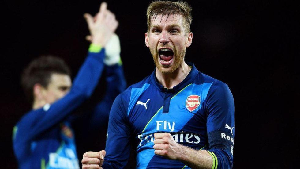 Arsenal defender Mertesacker