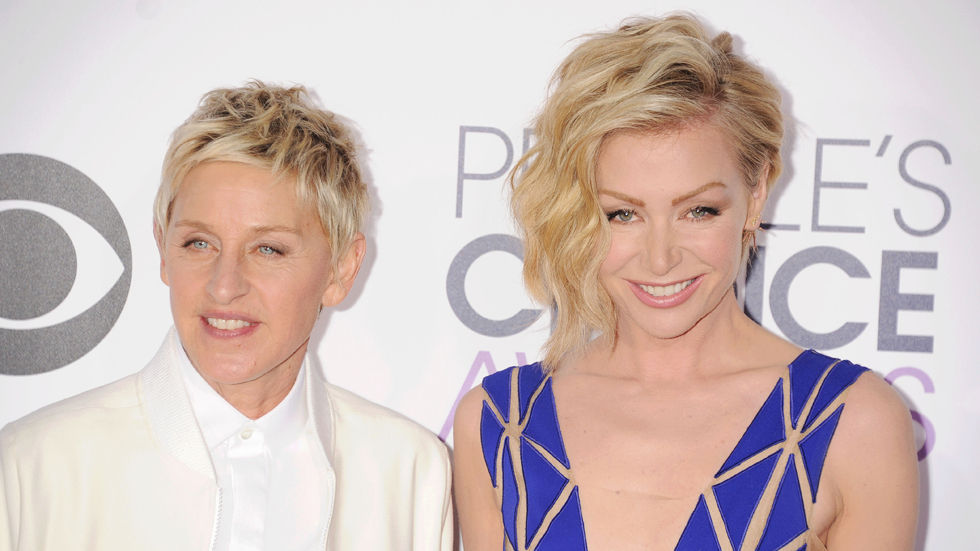 Ellen and Portia over?