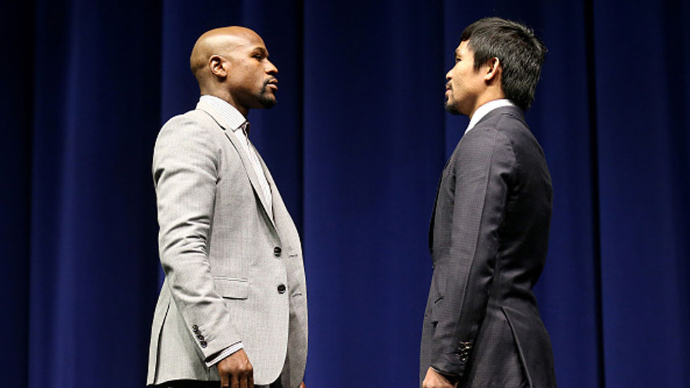 Mayweather faces Pacquiao