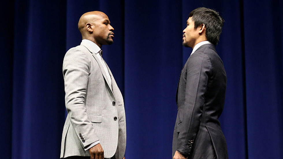 Mayweather and Pacquiao face