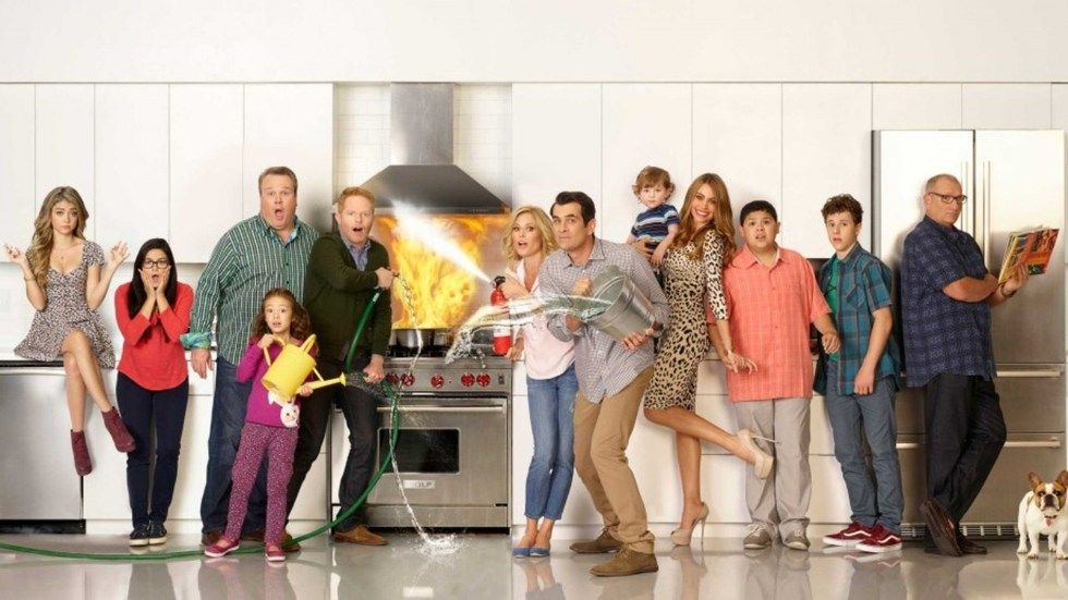 The Pritchetts in Modern Family
