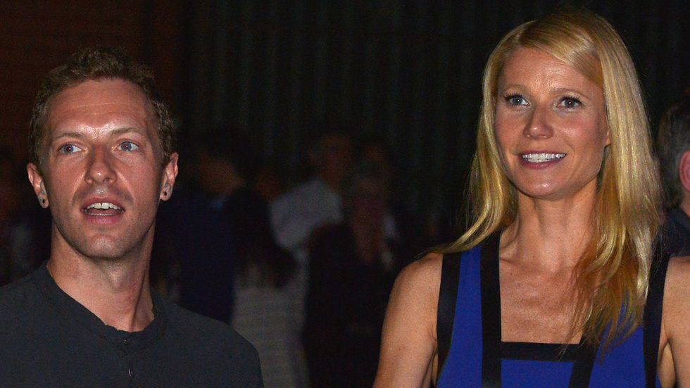 Chris Martin and ex Gwyneth Paltrow