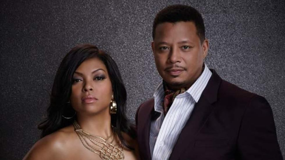 Taraji P. Henson as Cookie Lyon and Terrence Howard as Lucious Lyon in Empire